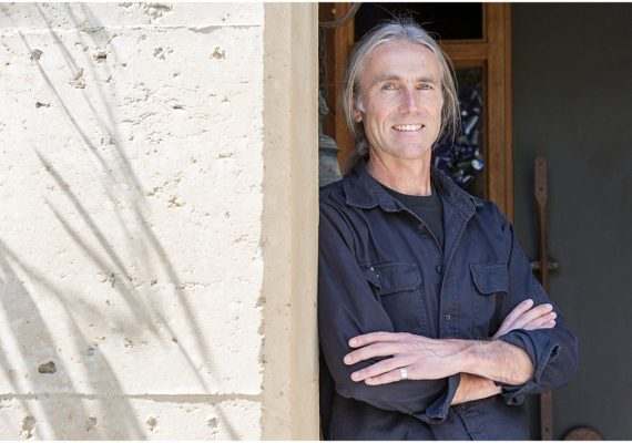 Architect Ian Sercombe